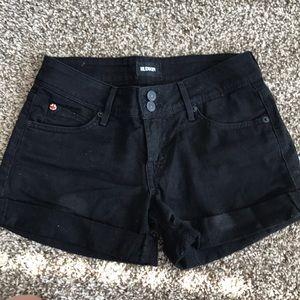 Houston Black Denim Shorts
